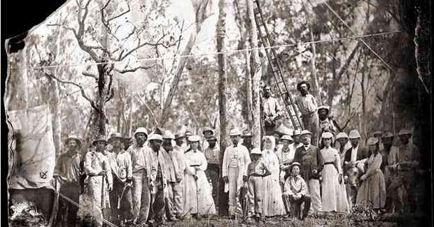 Australian Overland Telegraph Line On this day Overland Telegraph constructed Australian Geographic