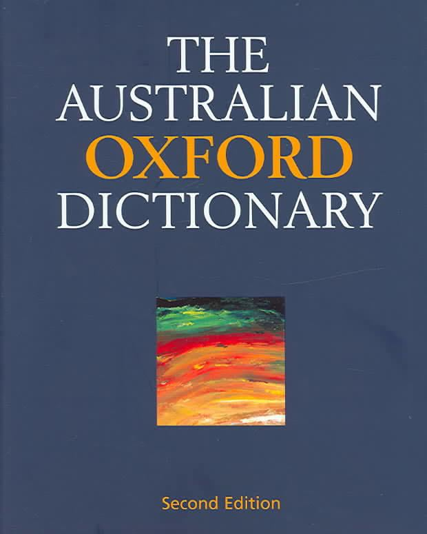 Australian Oxford Dictionary t3gstaticcomimagesqtbnANd9GcT6Wi2OGuFePXOZnK