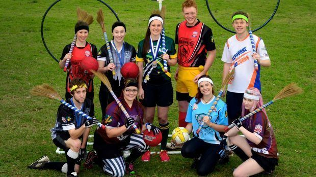 Australian Quidditch Association Harry Potter39s quidditch takes off in Melbourne