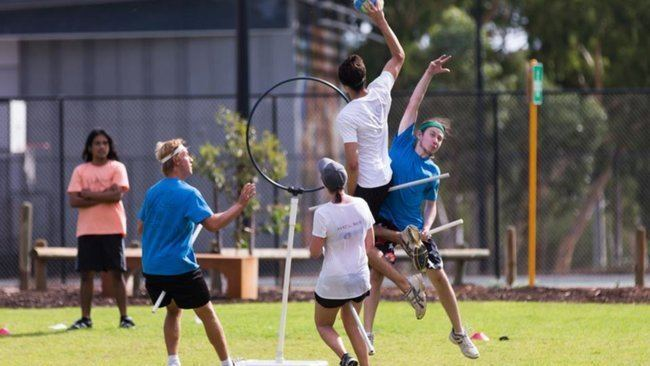 Australian Quidditch Association Play with the Western Australian Quidditch Association WAQA