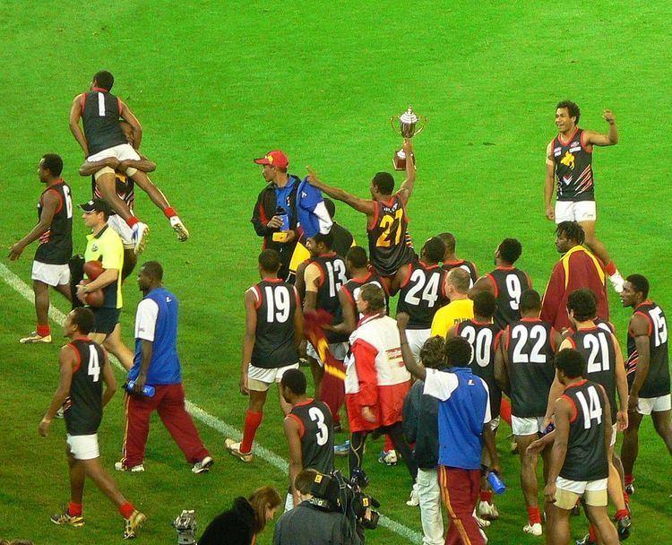 Australian rules football in Oceania