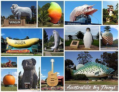 Australia's big things Australia39s big things Wikipedia