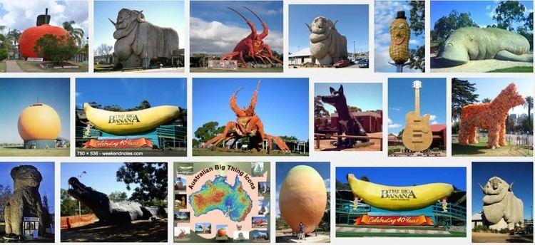 Australia's big things Australia39s Big Landmarks Go Bogan Quid
