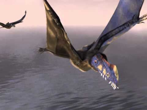Austriadactylus Vol du Pterosaure Austriadactylus Trias suprieur YouTube
