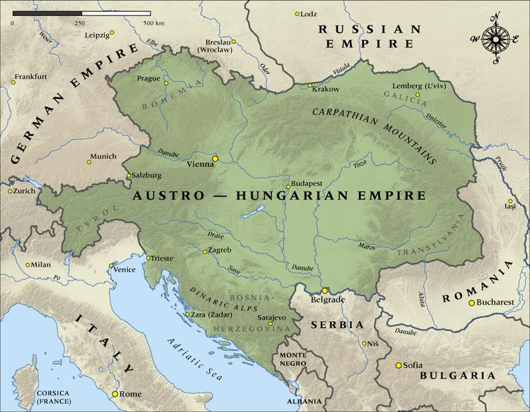 Austrian Empire The AustroHungarian Empire