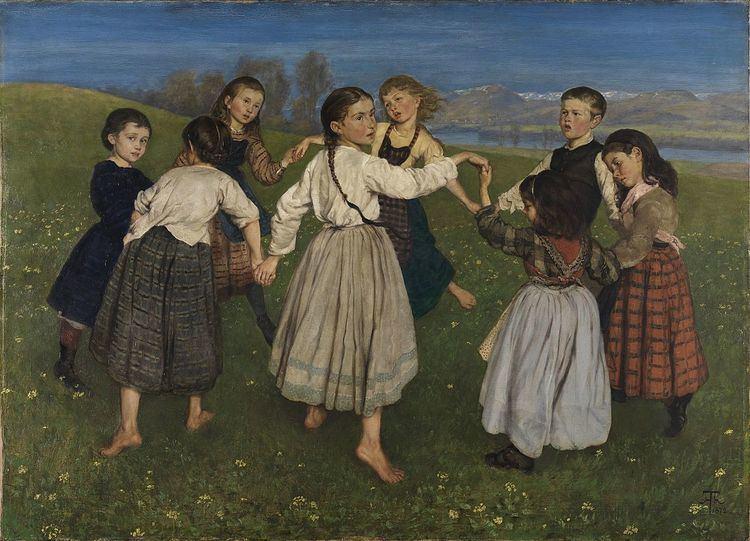Austrian folk dance