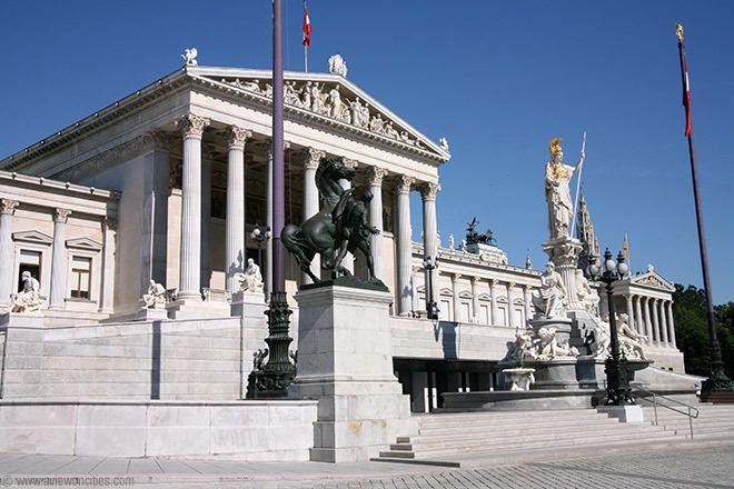 Austrian Parliament Austrian Parliament Building Vienna Pictures