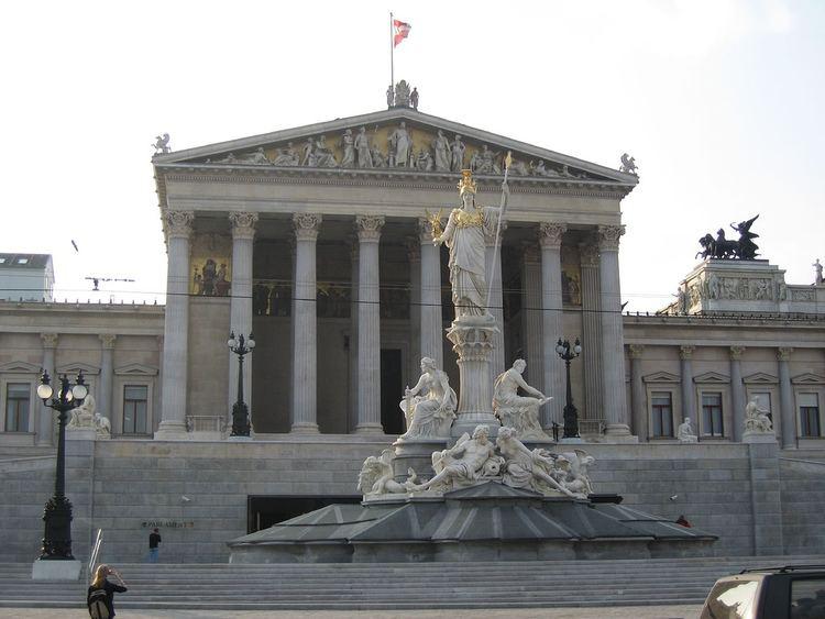 Austrian Parliament Austrian Parliament Vienna City Guide