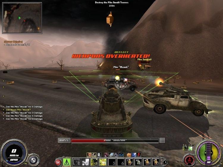 Auto Assault Auto Assault Beta Preview GameReviewOrg