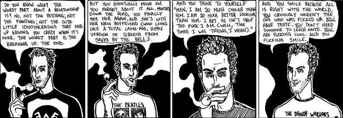 Autobiographical comics My First True Life Autobiographical Comic From My College Years