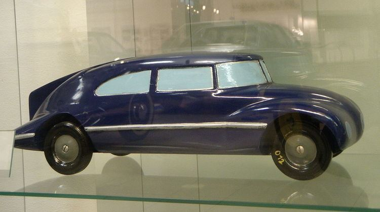 Automobile drag coefficient