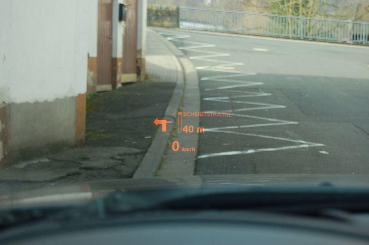 Automotive head-up display