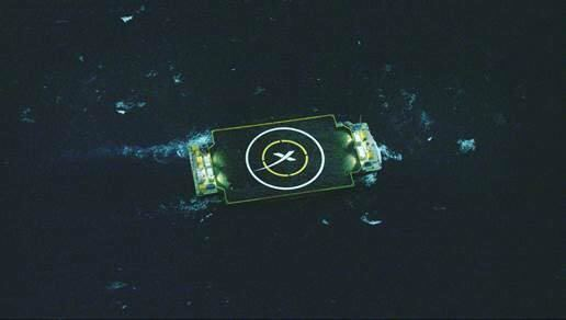 Autonomous spaceport drone ship Autonomous Spaceport Drone Ship Spaceflight Now
