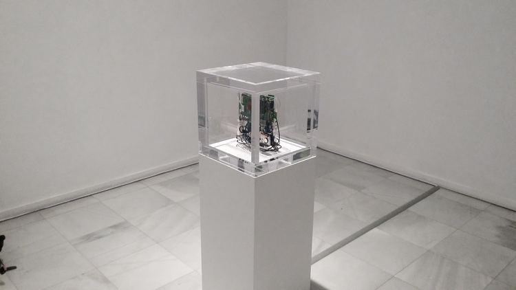 Autonomy Cube Trevor Paglen WORK CUBE