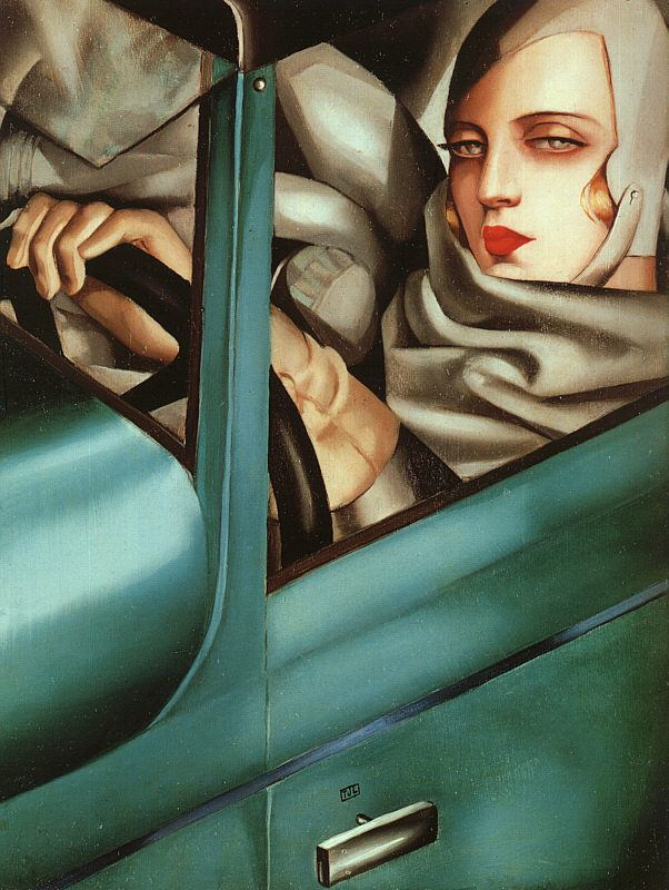 Autoportrait (Tamara in a Green Bugatti) httpsc1staticflickrcom760376208664788b7c7