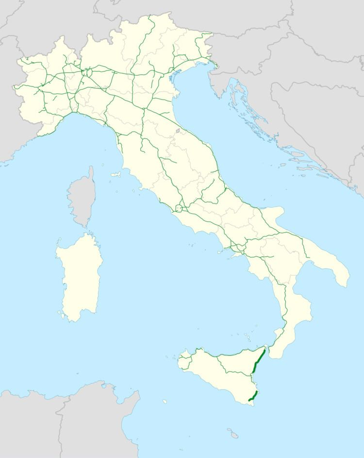 Autostrada A18 (Italy)