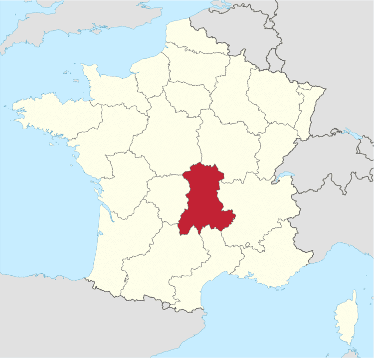 Auvergne (region) in the past, History of Auvergne (region)