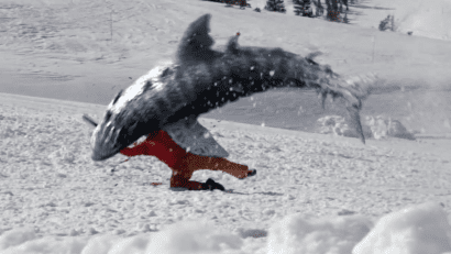 Avalanche Sharks Avalanche Sharks Is A Real Movie And It Looks NextLevel Bad