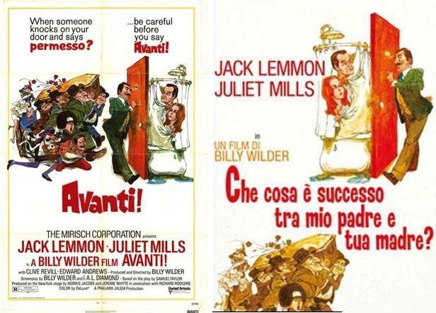 Avanti! movie poster