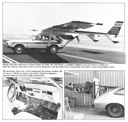 AVE Mizar AutomotiveAeronautic History The Pinto39s Brief And Tragic Life As