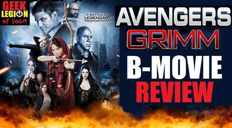 Avengers Grimm AVENGERS GRIMM 2015 Lou Ferrigno BMovie Review YouTube