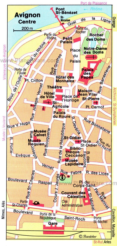 Avignon in the past, History of Avignon