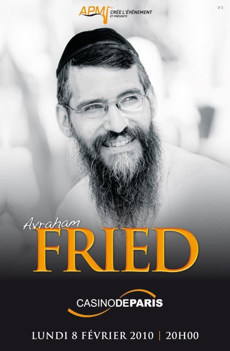 Avraham Fried AVRAHAM FRIED IN PARIS Jewish Insights