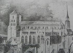 Avranches Cathedral httpsuploadwikimediaorgwikipediacommonsthu