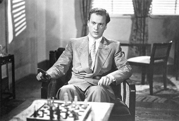 Axel von Ambesser Chess In The Cinema Chess scenes from the movie Frauen