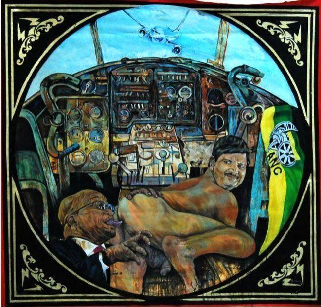 Ayanda Mabulu Artist Ayanda Mabulu Speaks On Latest State Capture Artwork