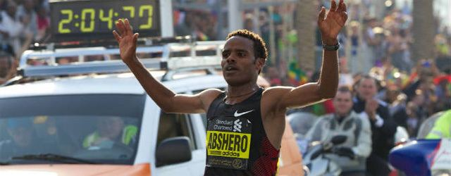 Ayele Abshero Incredible depth at Dubai Marathon as Ethiopians dominate