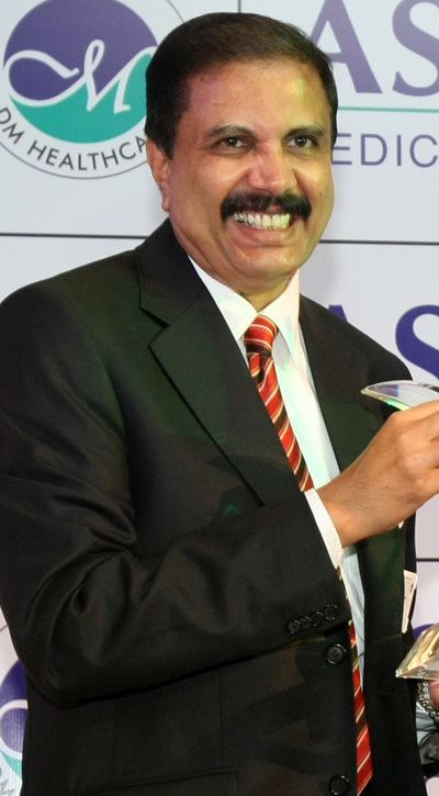 Azad Moopen Forbes39 top Indian business leaders in Middle East