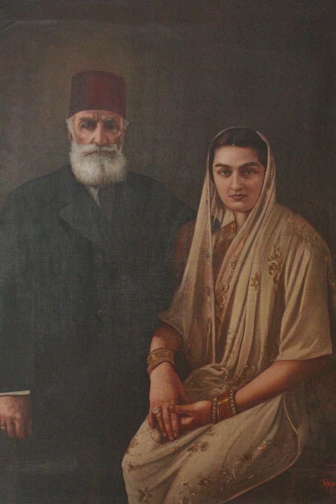Azam Jah Turkish aristocrats Durrushehvar and Azam Jah Chowmahalla Flickr