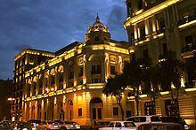 Azerbaijan State Theatre of Musical Comedy httpsuploadwikimediaorgwikipediacommonsthu