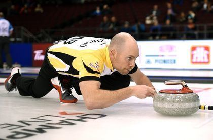 B. J. Neufeld Manitoba curlers thrive in leap years in Tim Hortons Brier Curling