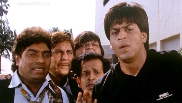 Baadshah (1999 film) movie scenes Baadshah ShahRukhKhan JohnnyLever 26 The 1999 film
