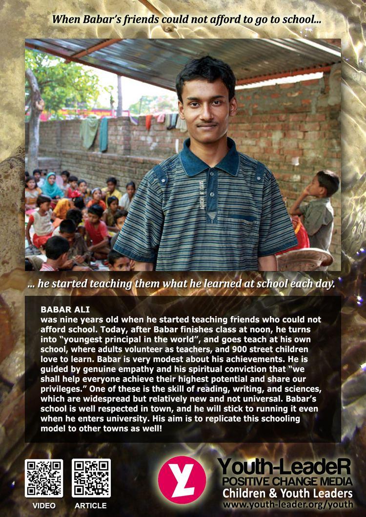 Babar Ali (teacher) BABAR ALI CHANGE GENERATION RISING