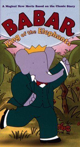 Babar: King of the Elephants Amazoncom Babar King of the Elephants VHS Philip Williams