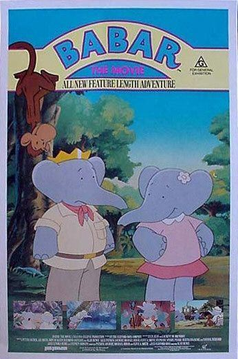 Babar: The Movie Babar The Movie Movie Poster 1 of 2 IMP Awards