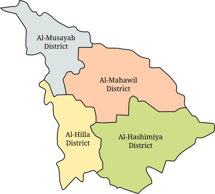 Babil Governorate in the past, History of Babil Governorate