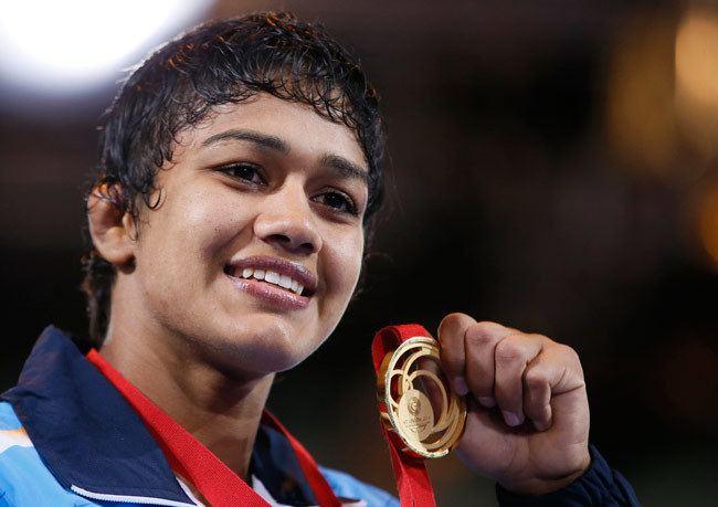 Babita Kumari CWG 2014 Indian wrestler Babita Kumari wins gold in 55kg