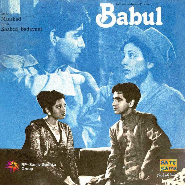 Babul 1950 Movie Mp3 Songs Bollywood Music
