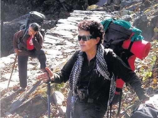 Bachendri Pal Imbibing team spirit on the Himalayas the Tata way Business Line