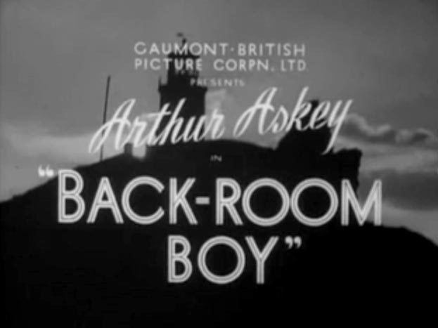 Back-Room Boy Back Room Boy Old Time Movies and Radio