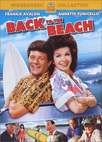 Back to the Beach Amazoncom Back to the Beach Frankie Avalon Annette Funicello
