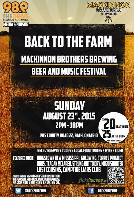 Back to the Farm Back to the Farm MacKinnon Brothers Brewing