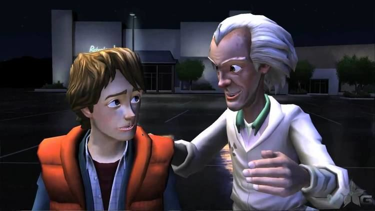 Back to the Future: The Game Back To The Future the Game Episode 1 Part 1 YouTube