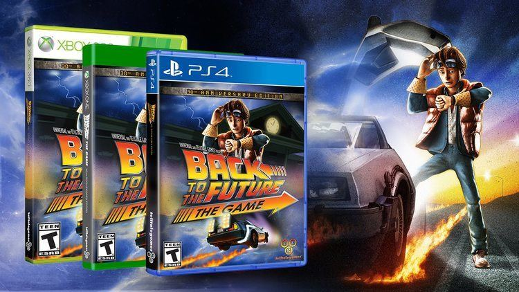 Back to the Future: The Game Back to the Future The Game 30th Anniversary Edition Trailer
