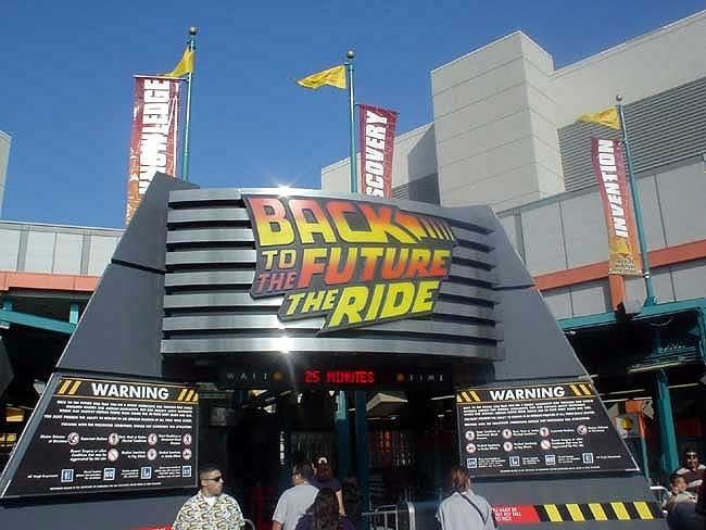 Back to the Future: The Ride - Alchetron, the free social