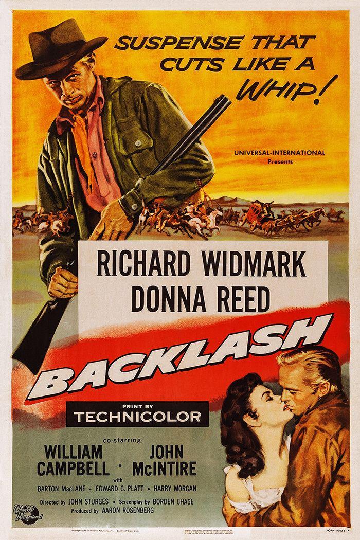 Backlash (1956 film) Backlash movie posters at movie poster warehouse moviepostercom